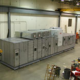 Air handling Equipment for a clean rooms Glaxco Smith Kline - in Mechanical Room