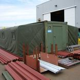 Completed MECC Shelter deployed as meeting room